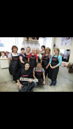 команда парикмахеров