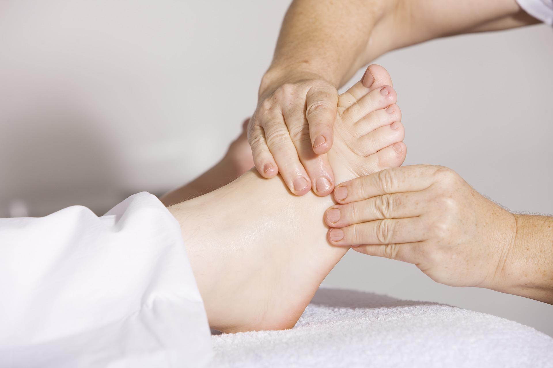 Массаж рефлекторных зон ног (тренинг)